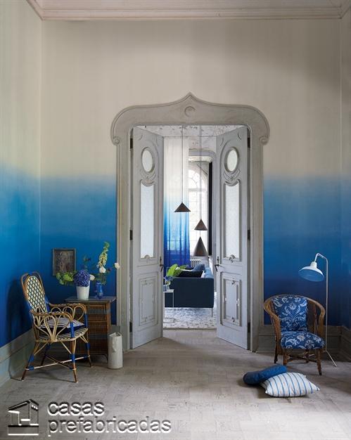 Pintura para paredes aplicada gradualmente (6)