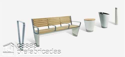 Woodhouse y su fina y delicada colección de mueblería de concreto para exteriores (1)