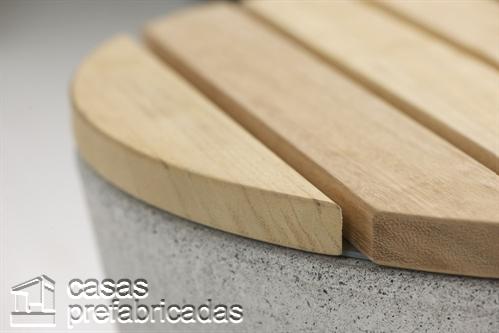 Woodhouse y su fina y delicada colección de mueblería de concreto para exteriores (9)