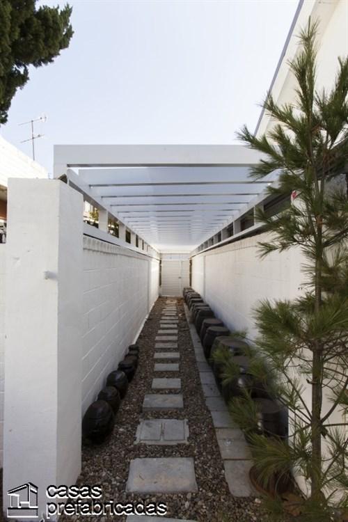 Residencia con un Patio creatividad a cargo de Smart Arquitectos (3)