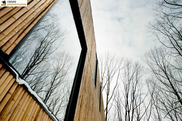 Casa moderna de bambú por arquitectos AST 77 en Rotselar, Bélgica (18)