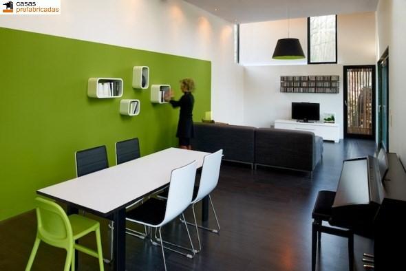 Casa moderna de bambú por arquitectos AST 77 en Rotselar, Bélgica (2)