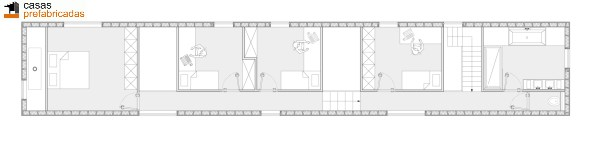 Casa moderna de bambú por arquitectos AST 77 en Rotselar, Bélgica (3)
