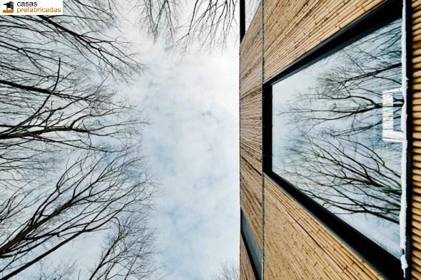 Casa moderna de bambú por arquitectos AST 77 en Rotselar, Bélgica (14)