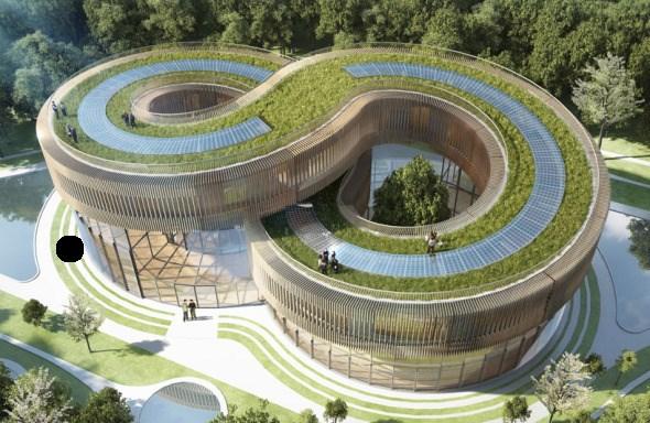 Bioclimática - eco villa en China (13)