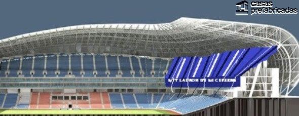 El nuevo estadio de los rayados del Monterrey (1)