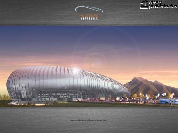 El nuevo estadio de los rayados del Monterrey (11)