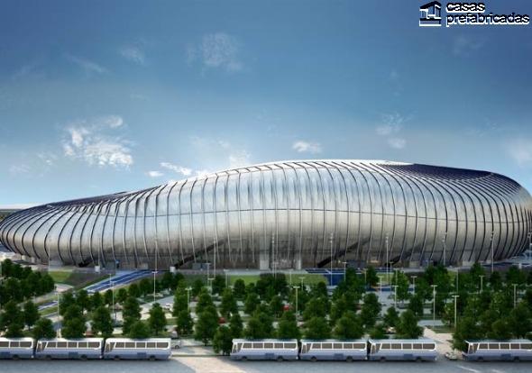 El nuevo estadio de los rayados del Monterrey (19)