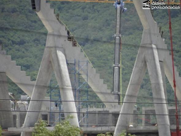 El nuevo estadio de los rayados del Monterrey (2)