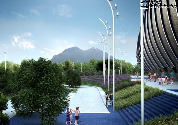 El nuevo estadio de los rayados del Monterrey (20)