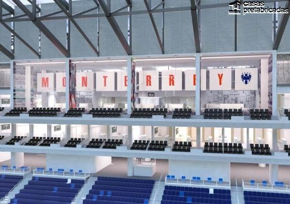 El nuevo estadio de los rayados del Monterrey (25)