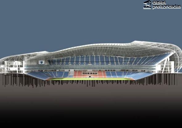 El nuevo estadio de los rayados del Monterrey (26)
