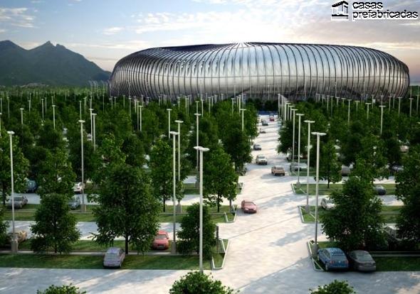 El nuevo estadio de los rayados del Monterrey (27)