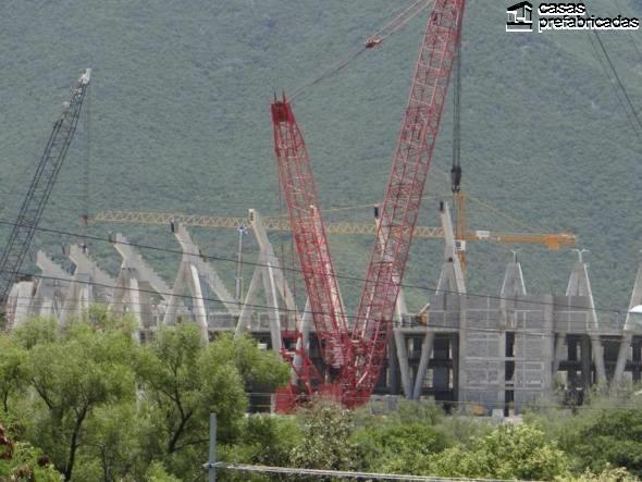 El nuevo estadio de los rayados del Monterrey (3)