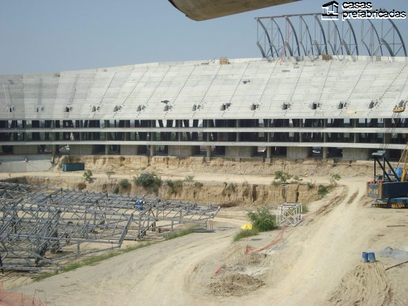 El nuevo estadio de los rayados del Monterrey (6)