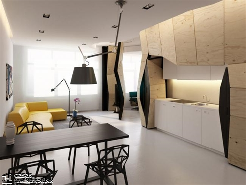 Muros que facilitan la transformación de apartamentos (5)