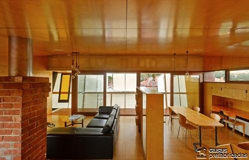 Sala e interiores de la Casa 31_4 Room House (2)