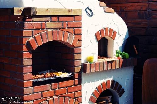 Bellas fachadas que incorporan hornos y cocinas coloniales en sus exteriores (27)