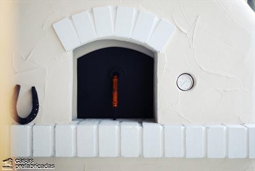 Bellas fachadas que incorporan hornos y cocinas coloniales en sus exteriores (6)