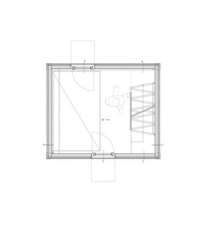 Planos de construccion de vivienda de tres pisos con madera en terreno minusculo (1)