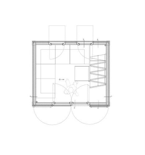 Planos de construccion de vivienda de tres pisos con madera en terreno minusculo (3)