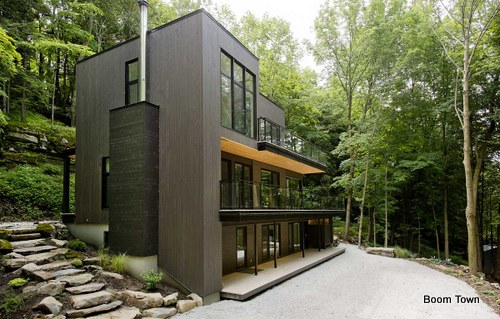 Chalets en monta as una alternativa moderna para personas for Casa moderna bloxburg