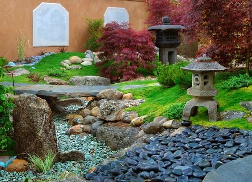 Como crear un jardin japones