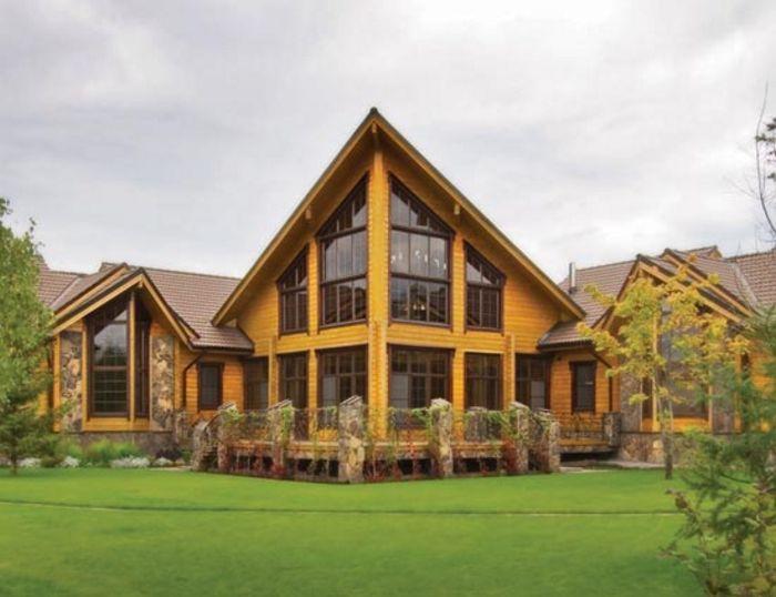 10 dise os de casas de madera - Imagenes de casas de madera ...