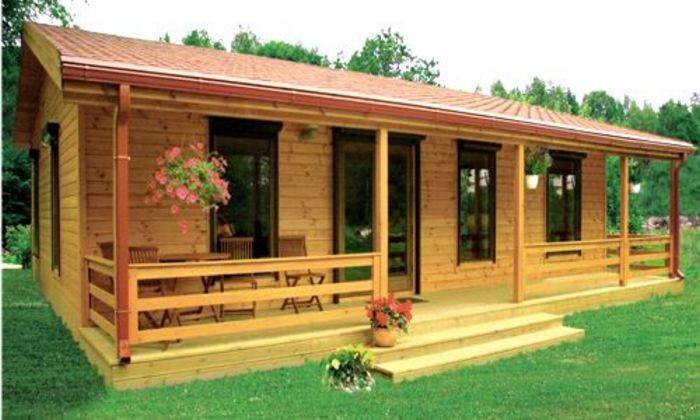 10 dise os de casas de madera - Casas de madera pequenas y baratas ...
