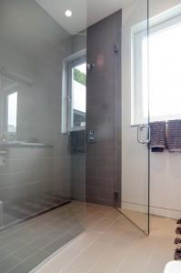 El baño de la casa ecológica