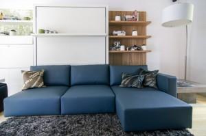Un sofá bien diseñado y muy cómodo