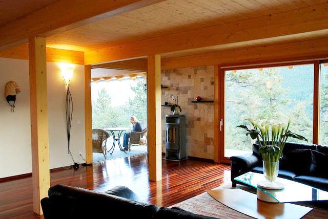 la sala un lugar cómodo y calientito