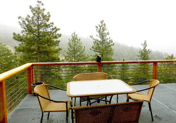 una terraza para descansar