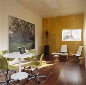un lugar para trabajar cómodamente