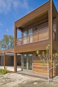 Diseño de dos plantas de la casa
