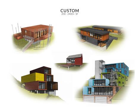 Diferentes diseños y modelos