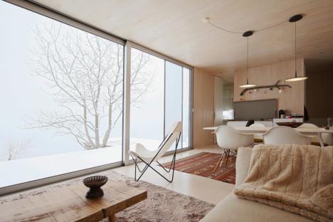 El interior muy cómodo y modular