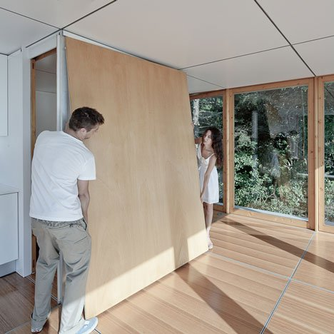 Paneles de separación de madera