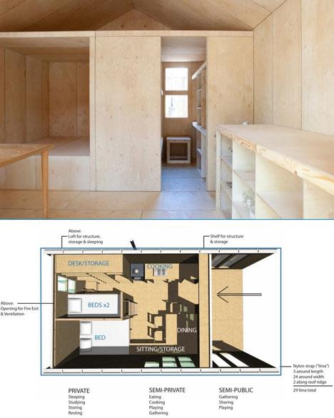 Muy bin diseñada y todo de madera