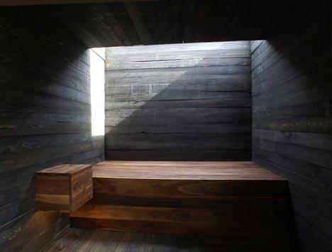 Un interior rústico