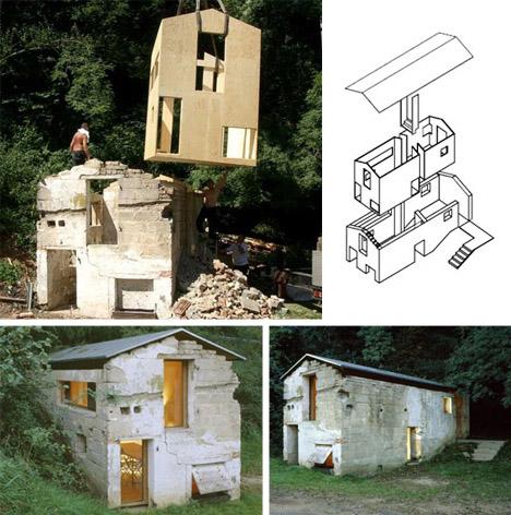 Proyecto moderno de casa con increíbles usos