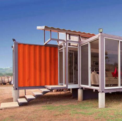 Casas contenedores prefabricadas modernas y baratas - Contenedores para vivir ...