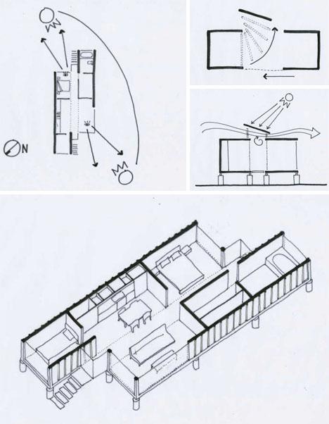 un plano de diseño moderno