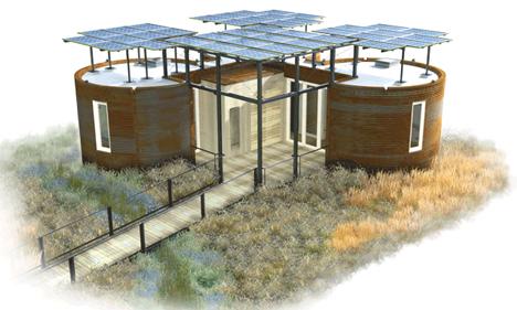Casa moderna reutilizable