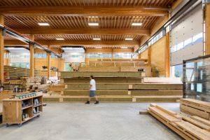 Amplios espacios ideales para trabajar