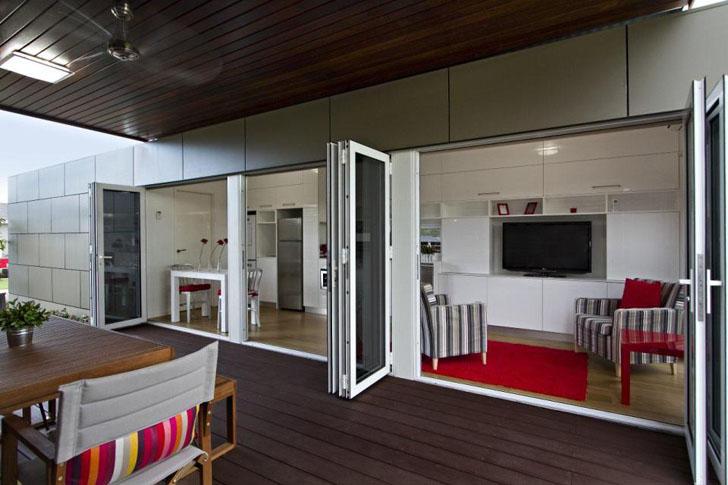 Moderno hogar por dentro