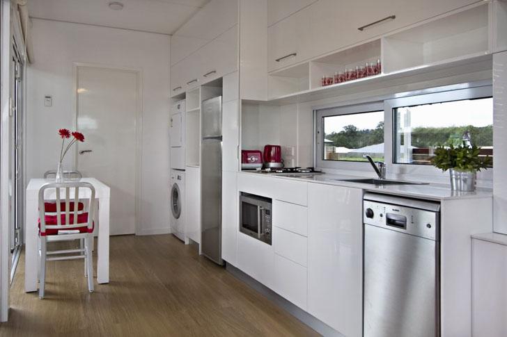 Una cocina muy moderna