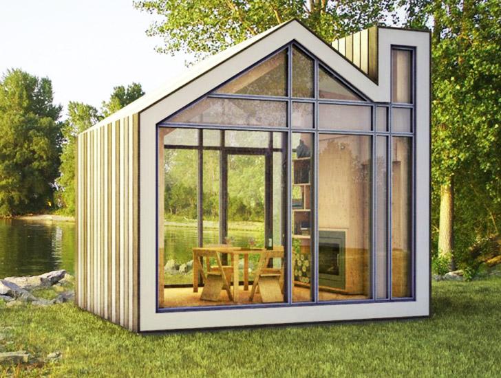 Casa bonita y abierta