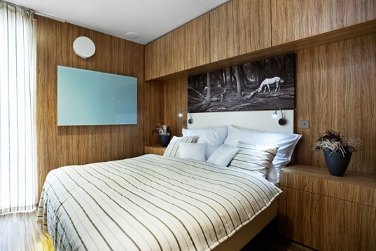 Un dormitorio muy bonito