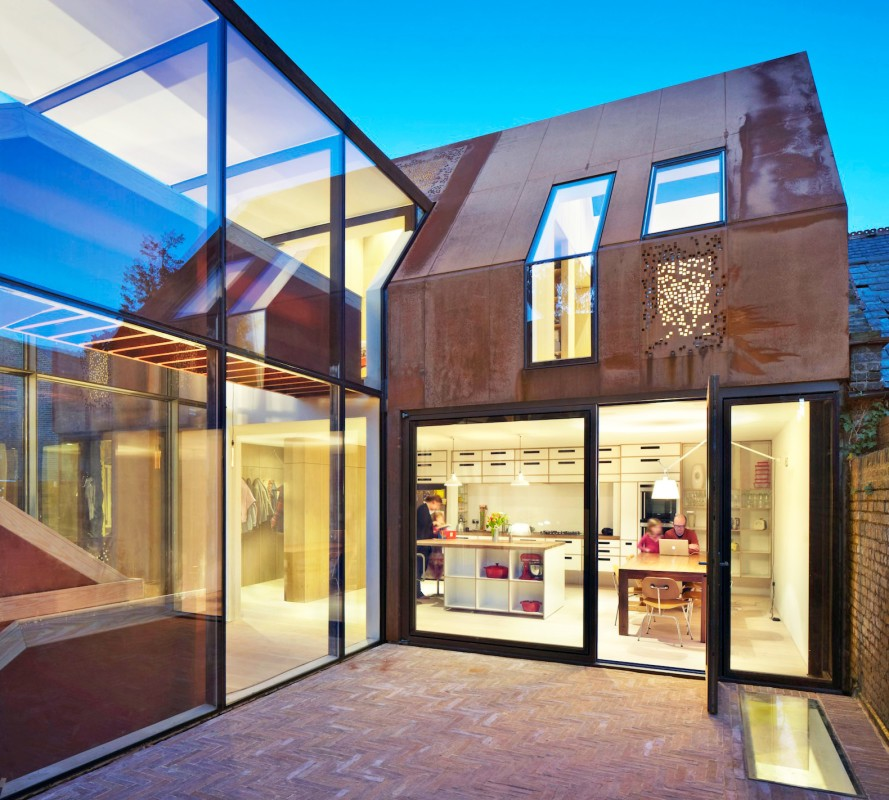 moderna casa lujosa